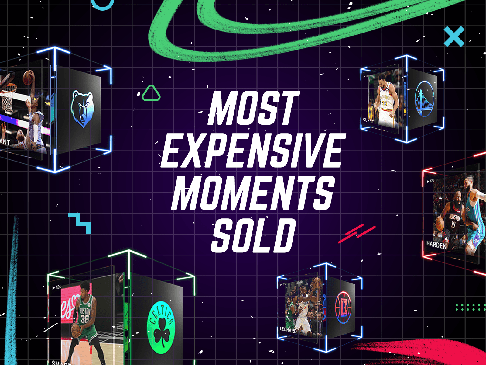 The Most Expensive NBA Top Shot Moments (So Far)