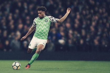 Nigeria football kit