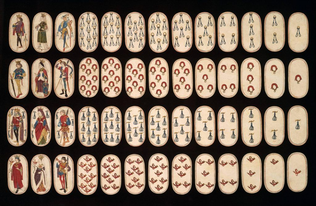 The oldest and rarest deck of cards known to man