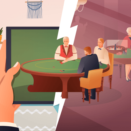 online casino vs land based casino