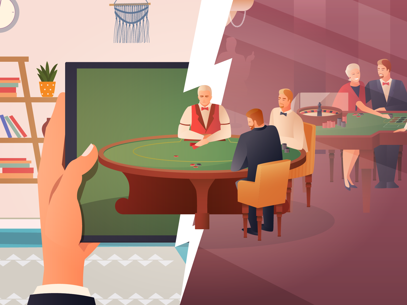 Online Casinos vs. Land-Based Casinos: Which is Better?