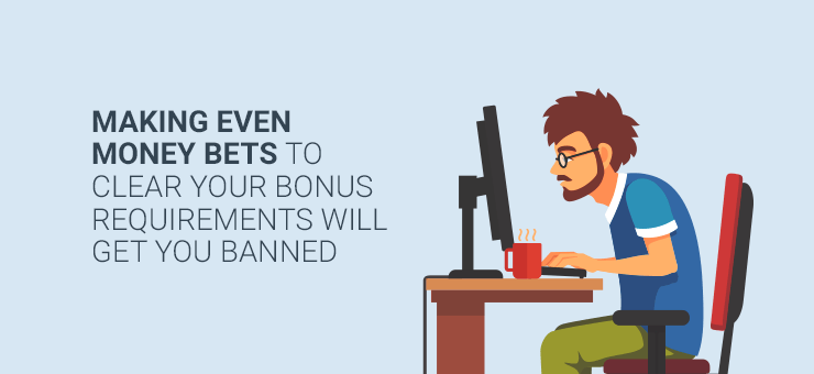 image showing how breaking bonus rules can get you thrown off an Internet casino site