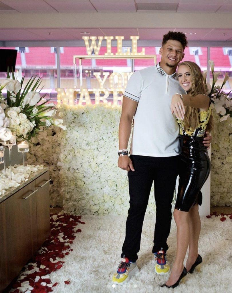 Patrick Mahomes Proposal