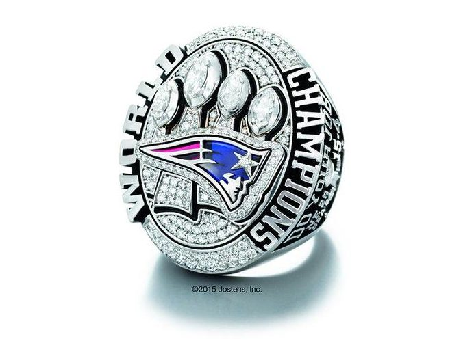 Patriots Super Bowl ring