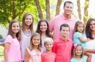 Philip Rivers' Family.