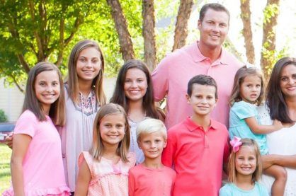 Philip Rivers' Family.