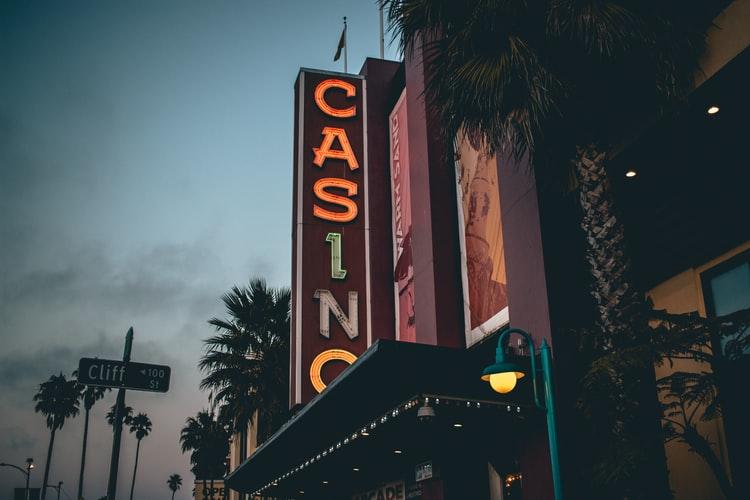 Casino building in Santa Cruz