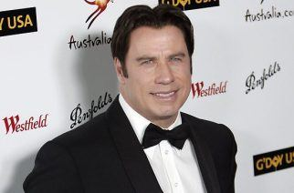 The name's Travolta....John Travolta. (Source: AP)