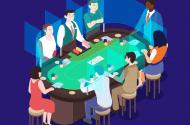 plexiglass surrounding poker game