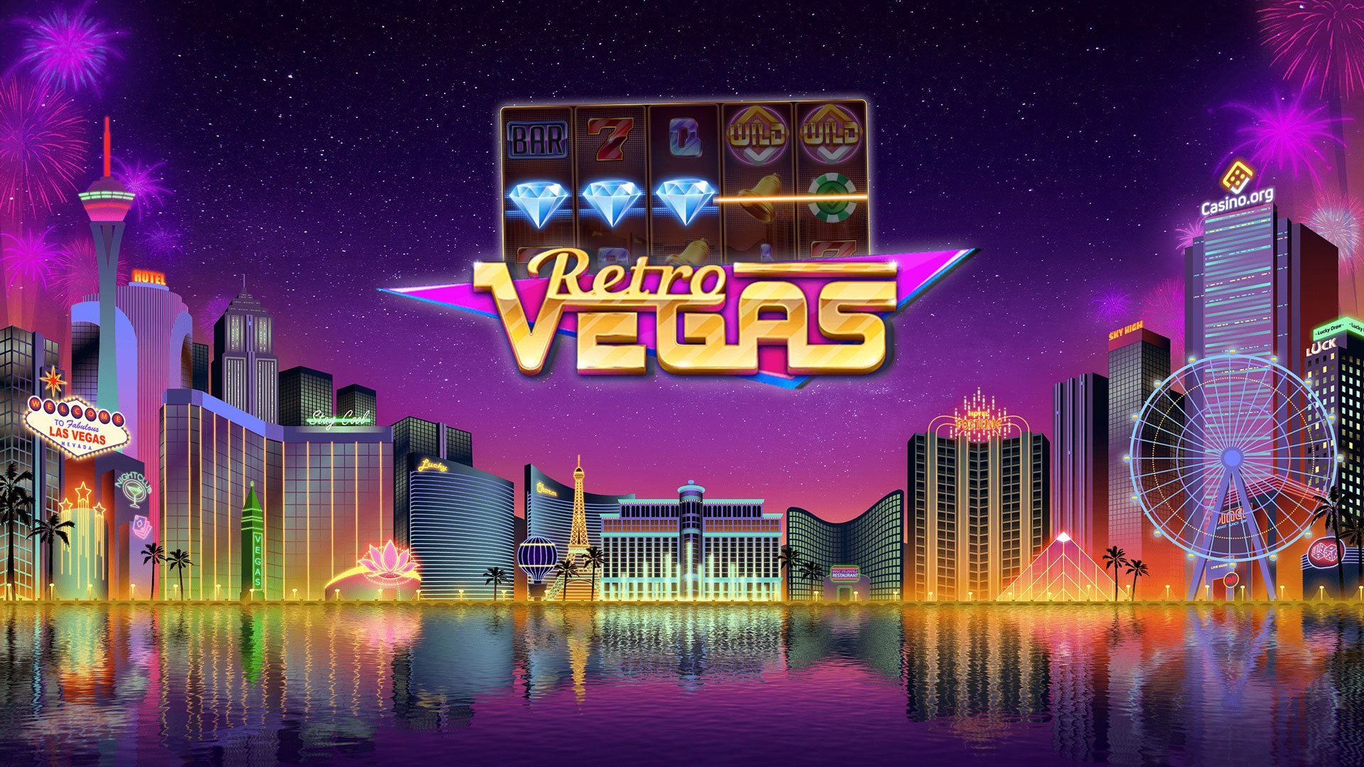 Retro Vegas slots game