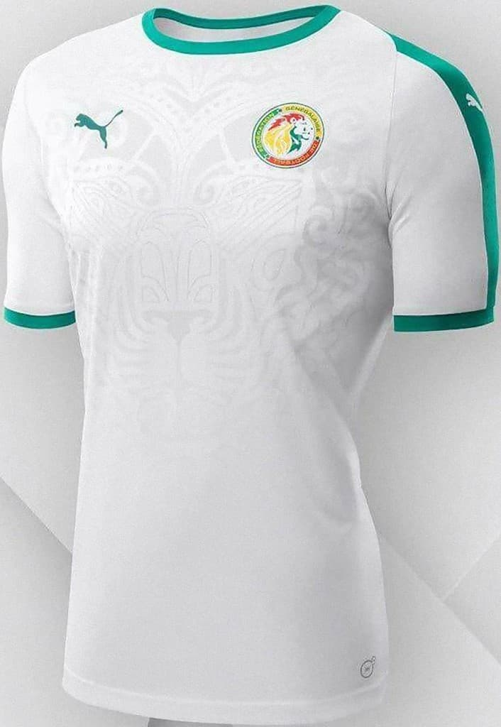 sepak bola Senegal kit