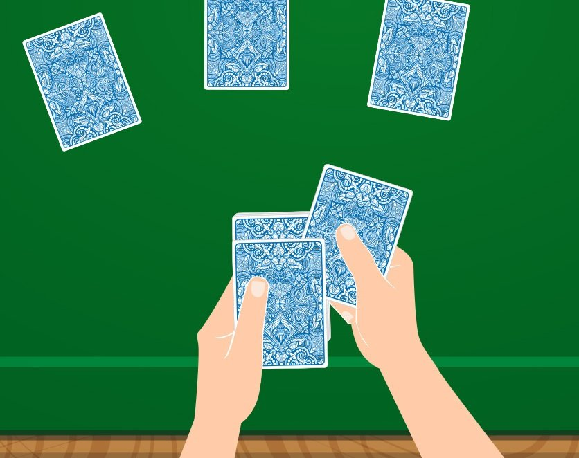 A false card deal