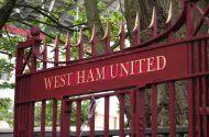 Gates at the Boleyn Ground
