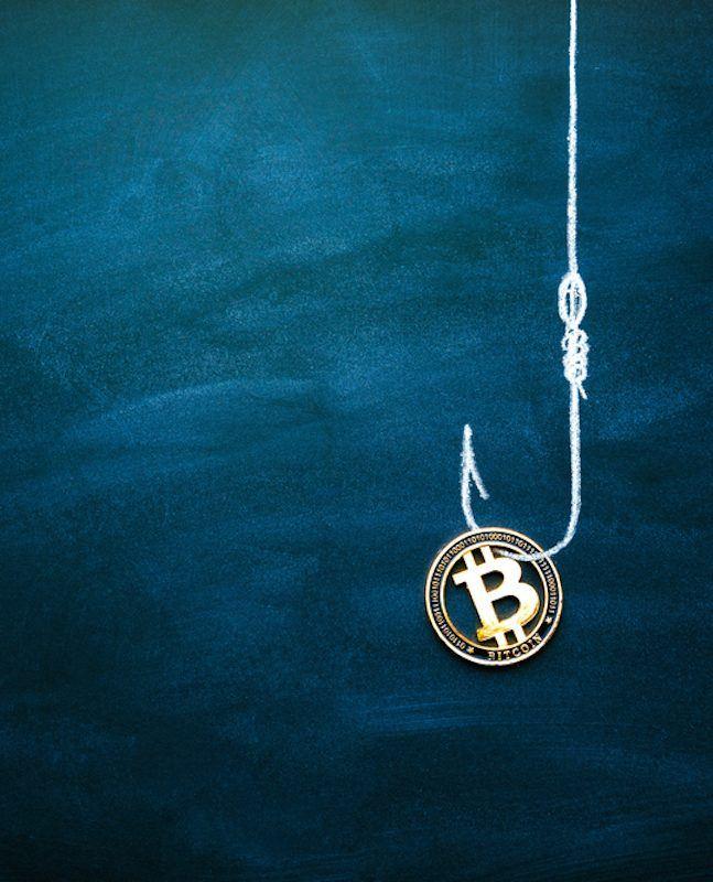 Bitcoin as a bait.