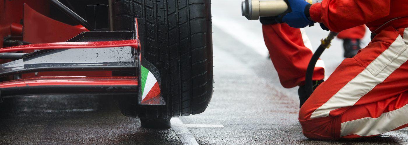 Racing pitstop