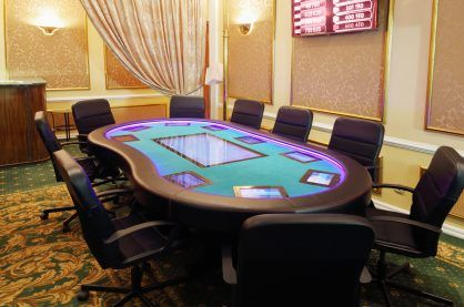 Private poker table