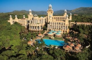 A stunning luxury casino resort set in picturesque South Africa. As well as a casino, the resort has four hotels and a water park. (Image:ikapa.co.za)