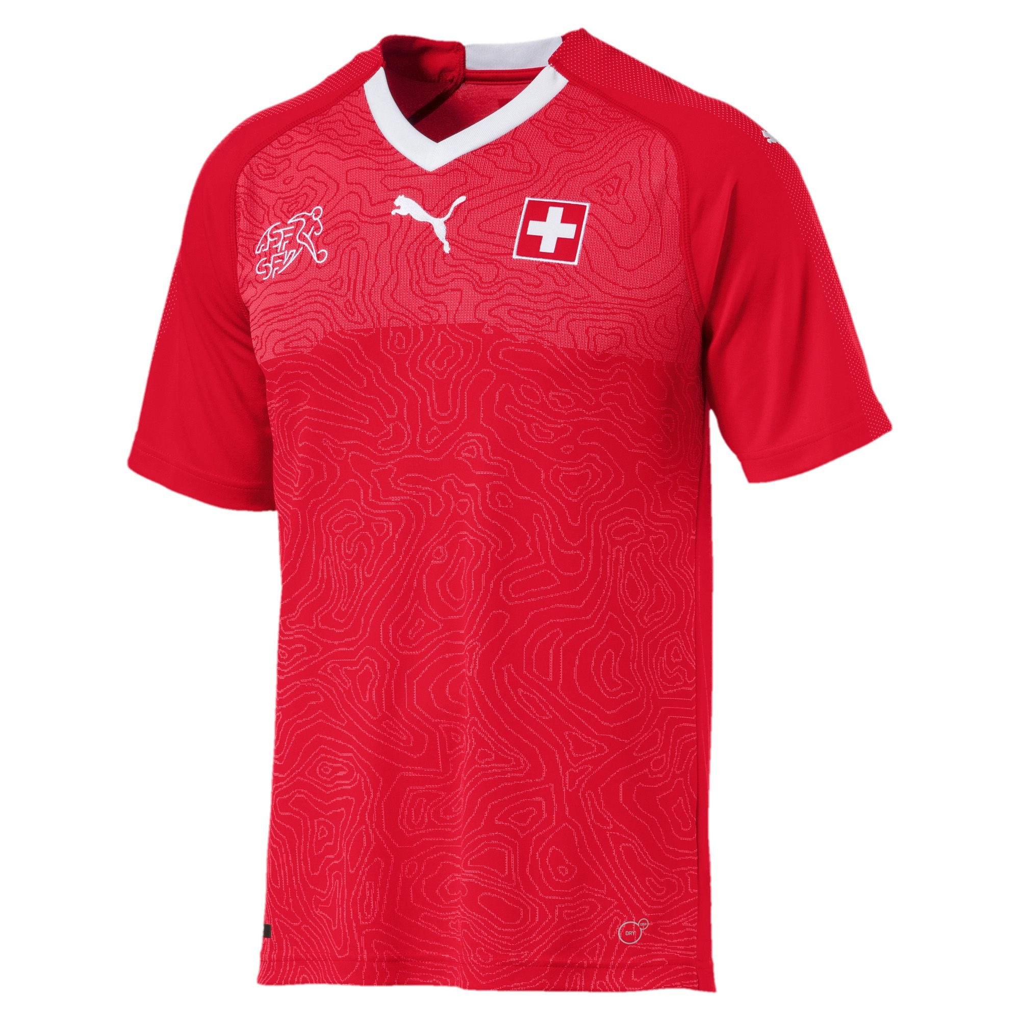 Swiss football kit