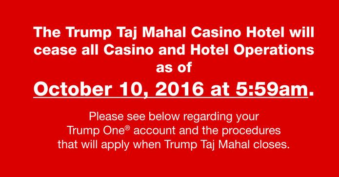 Taj Mahal Customer Information