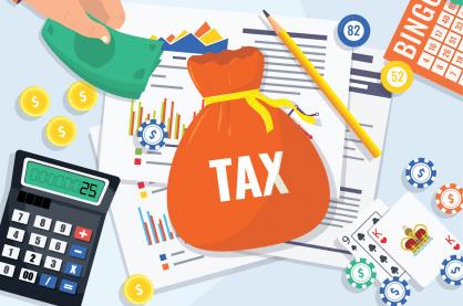 Gambling taxes illustration