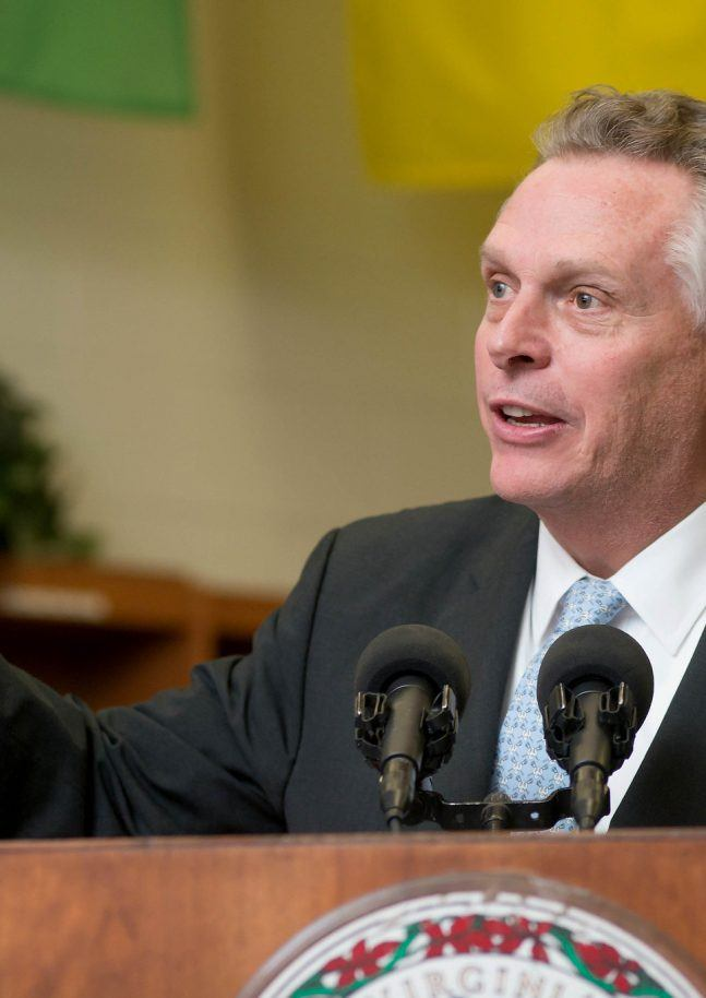 Terry McAuliffe - Former Governor of Virginia