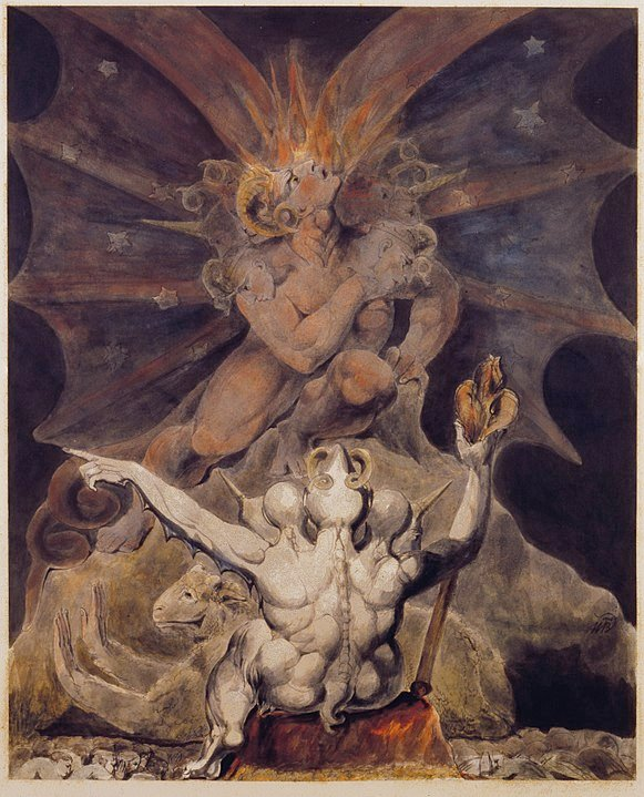 number of the beast 666 - william blake