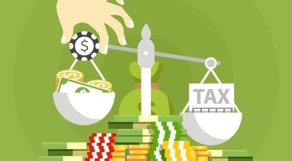 Tax on gambling winnings