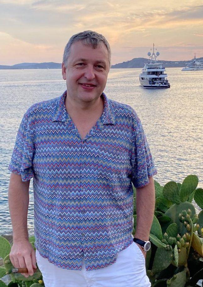 Tony G by the sea