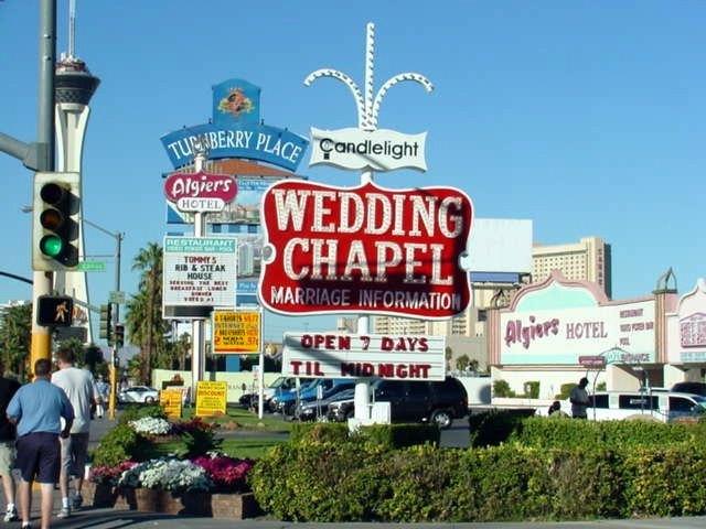Wedding Chapels In Las Vegas. (Image: WedWebTalks.com)