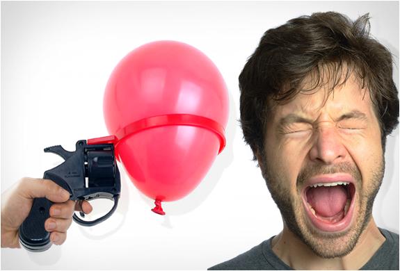 Russian roulette water balloon roulette
