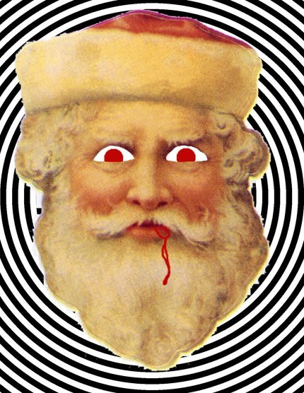 crazy father christmas