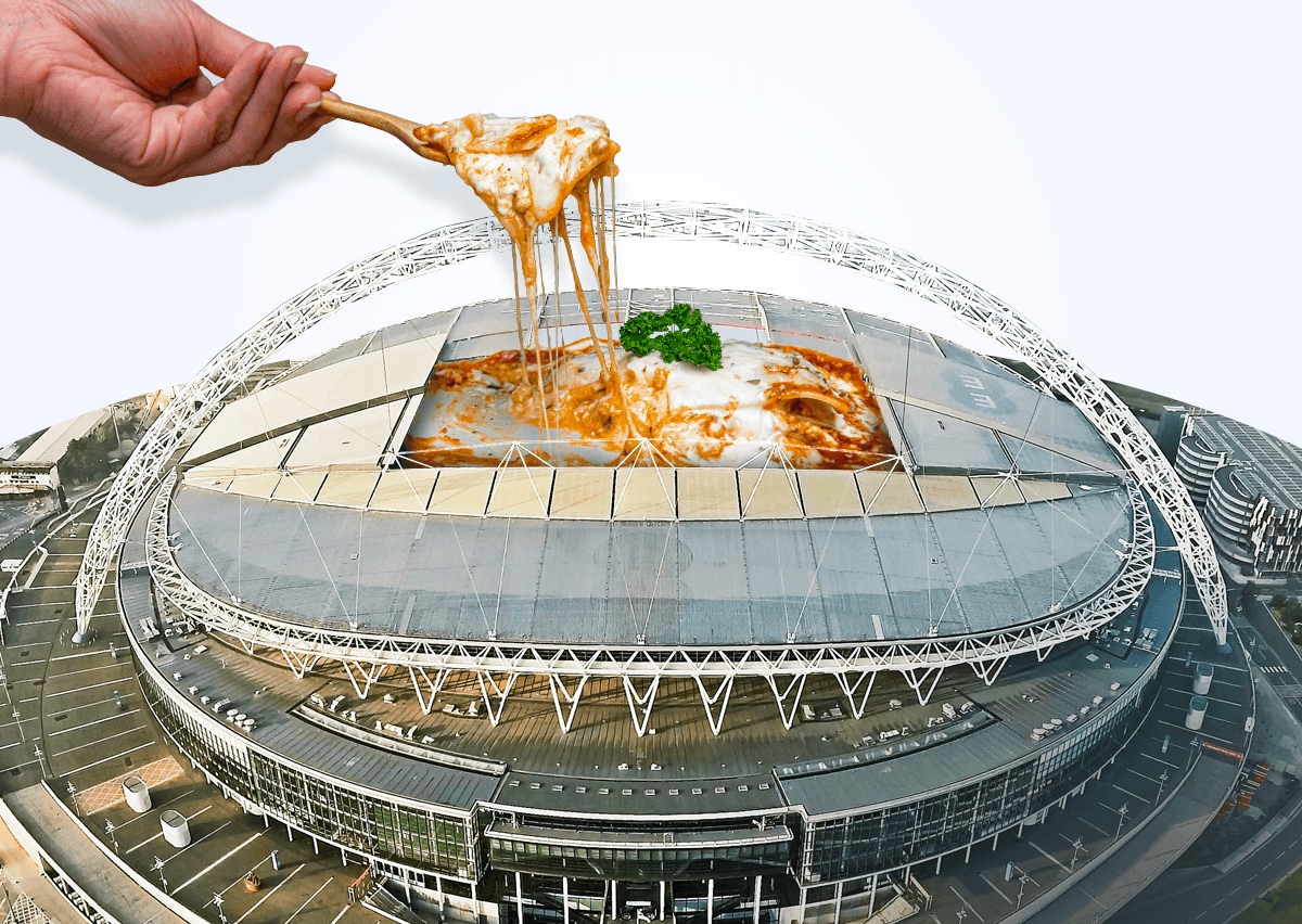 The Viral Wembley Stadium Lasagne Prank Brought To Life – Full Recipe Inside