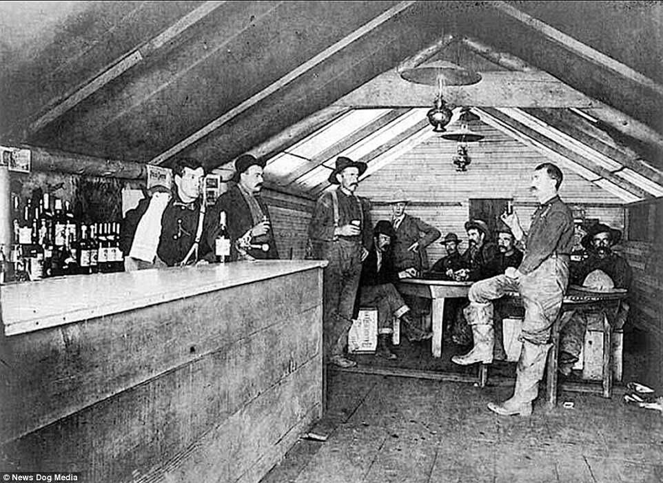 old gambling saloon