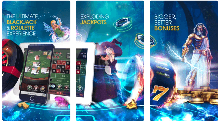 Willian Hill casino app