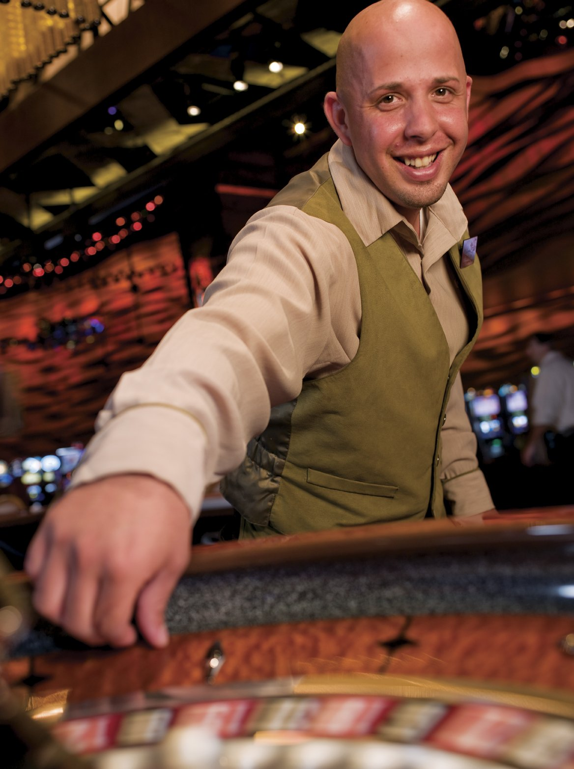 Job at casino gambling disorder