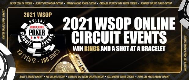 WSOP 2021 banner