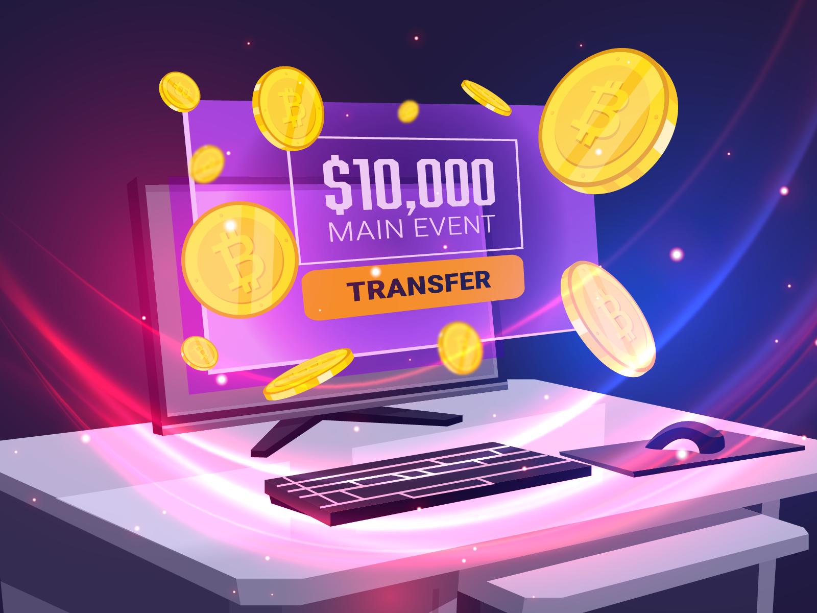 Main Event $10,000 buy-in yang dibayangkan di masa depan