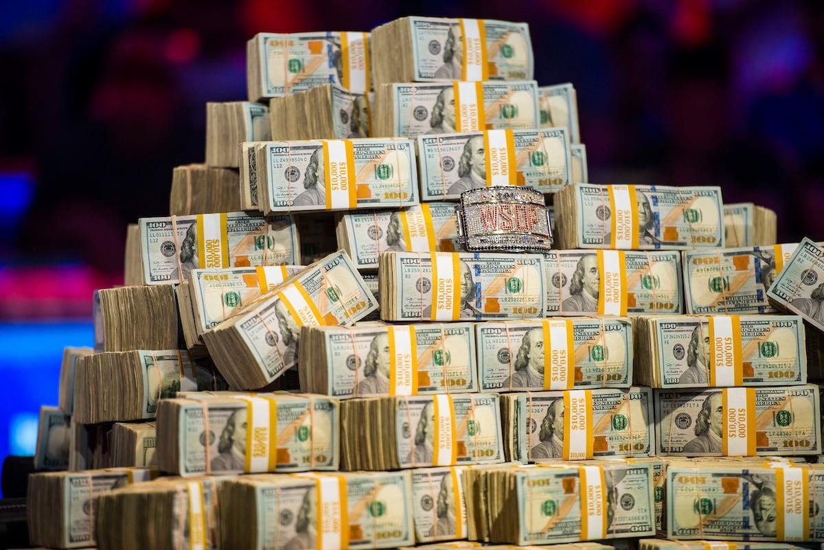 Hadiah uang WSOP
