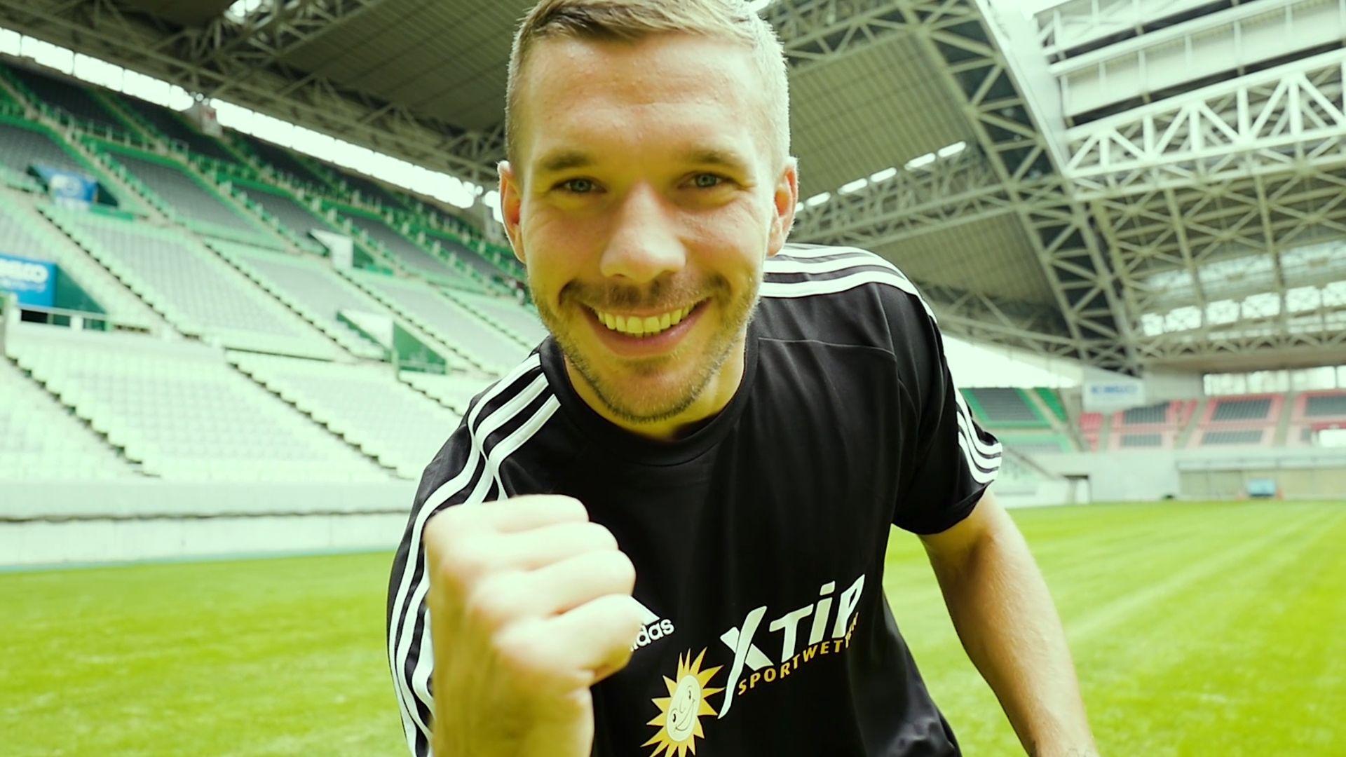 Fußballer Lukas Podolski