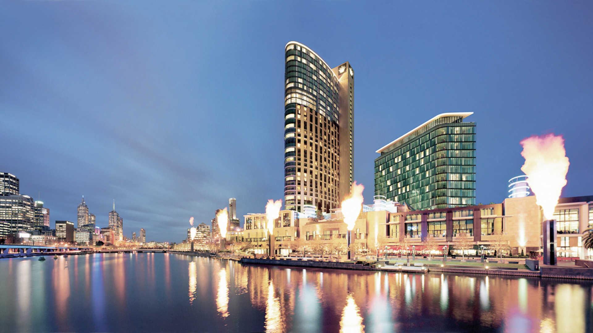 Das Crown Casino in Melbourne