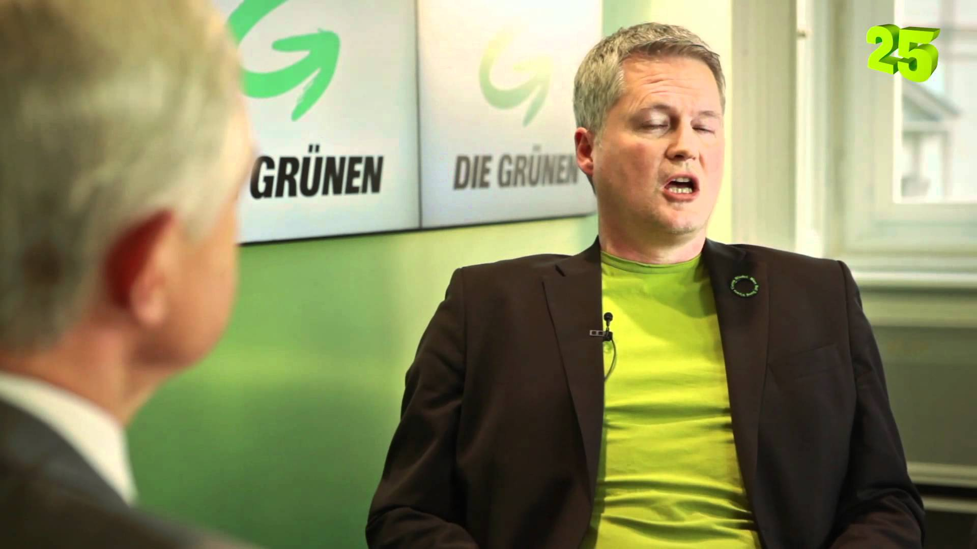 Politiker David Ellensohn von den Grünen