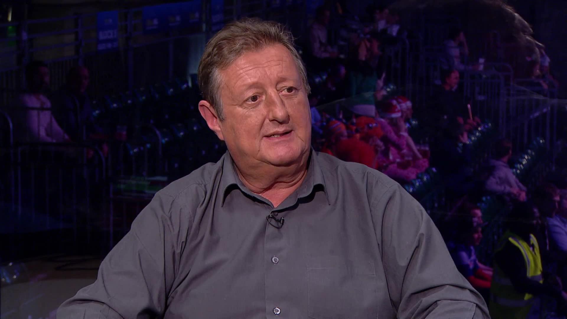 Darts-Spieler Eric Bristow aus Großbritannien