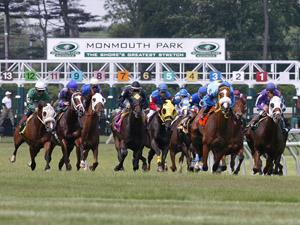Sportwetten auf der Monmouth Park Pferderennbahn