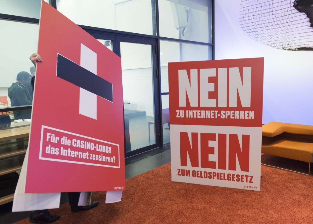 Kampagne der Gesetzesgegner