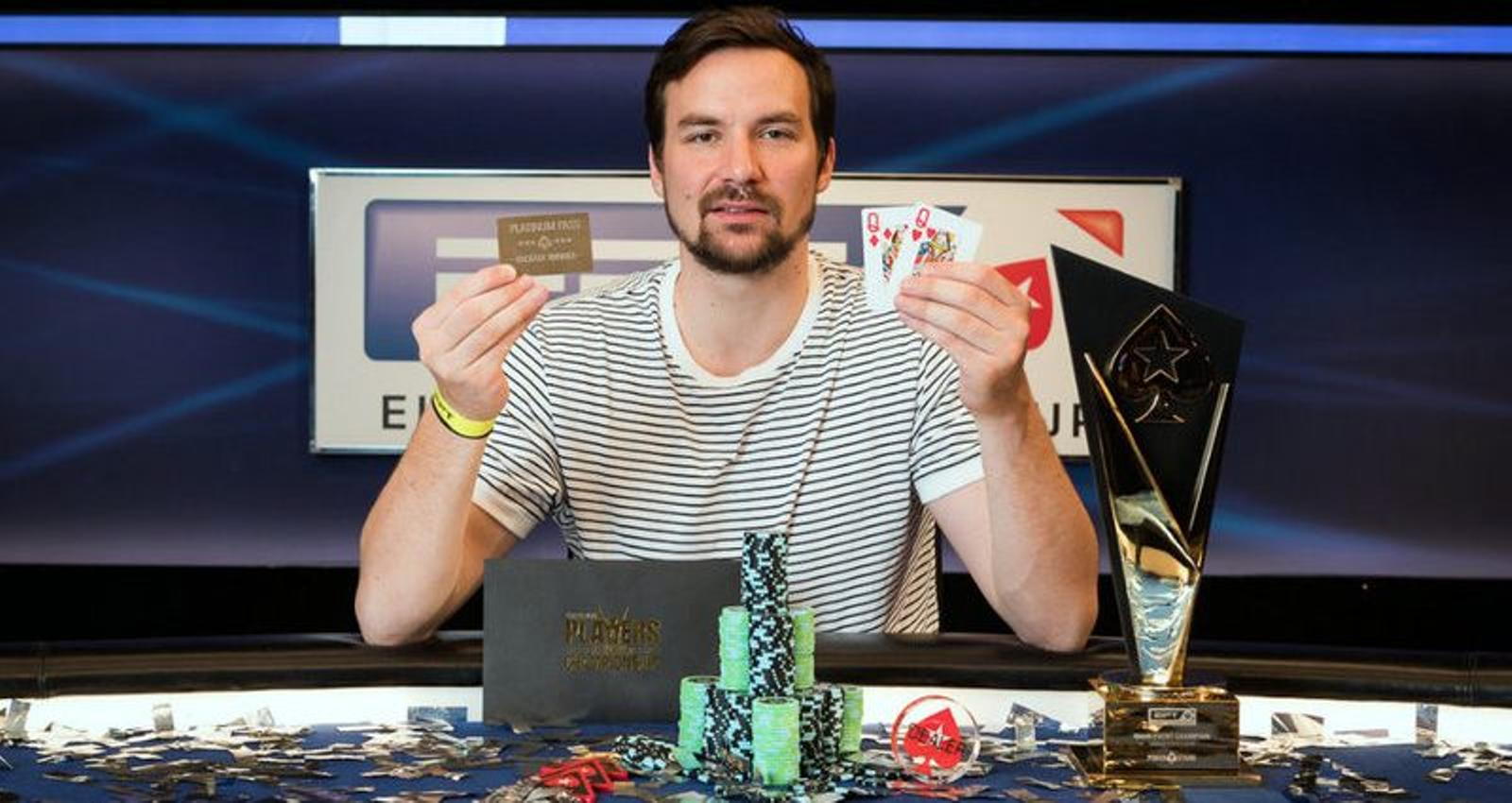 Nicolas Dumont Gewinner der EPT 2018