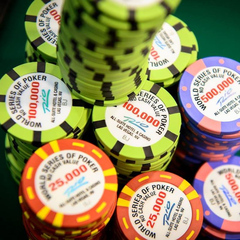 Poker Chips WSOP 2018