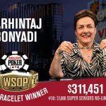 Farhintaj Bonyadi gewinnt als erste Frau ein Bracelet bei der WSOP 2018