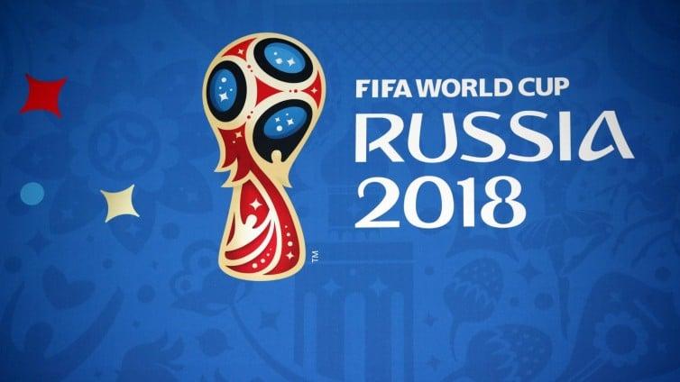 Fußball WM 2018 Logo