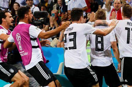 Deutschland feiert den Sieg