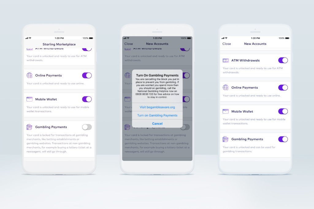 Screenshot Starling Bank